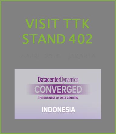 Come Visit TTK – Liquid Leak Detection Solution Provider – at Data Center Dynamics Jakarta, Indonesia