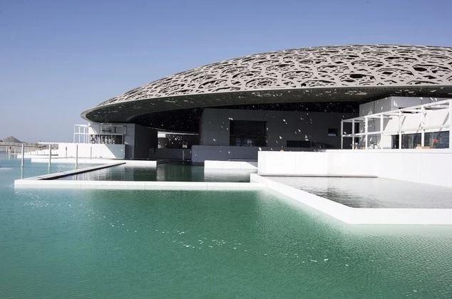 TTK inside the LE LOUVRE Museum – Abu Dhabi