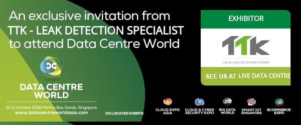 Visit TTK at Data Centre World, 10 – 11 October 2018, Marina Bay Sands, Singapore